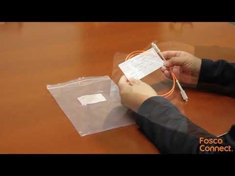 How to use SC-SC 62.5um multimode fiber patch cable?