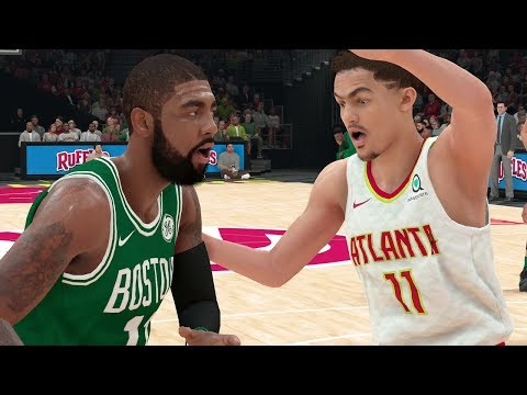 NBA 2K19 Boston Celtics vs Atlanta Hawks | NBA 2K19 Gameplay PS4 Pro