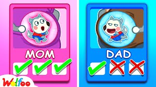 Was Wolfoo Born by Mommy or Daddy? - Wolfoo Kids Stories | Wolfoo Family Kids Cartoon