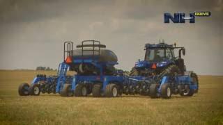 New Holland #NHDrive Concept Autonomous Tractor