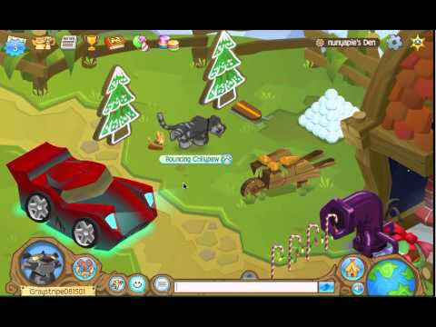 Animal Jam Items: Red Sports Car