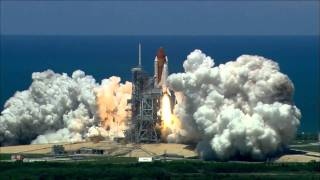 Space Shuttle Launch Audio - play LOUD (no music) HD 1080p(Created through FAIR USE for educational purposes - - STS-121 You need a sound system with a lot of power and a great sub (turned up to house shaking ..., 2011-04-27T13:15:02.000Z)