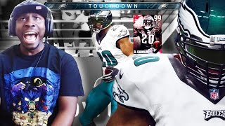 Madden 16 Ultimate Team Gameplay - 99 DAWKINS FACECAM RAGE! 9 Feet Tall Again Ep 18