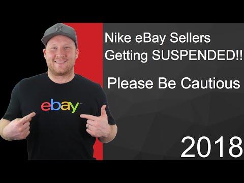 eBay Nike Sellers getting Suspended