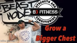 B3 Fitness Gym | Brackley | Chest Session | Mike Burnell