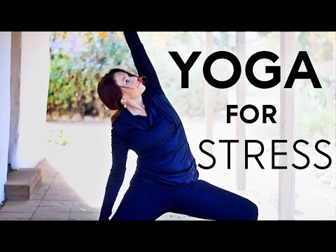 20 Minute Yoga For Stress And Anxiety (Depression) | Fightmaster Yoga …