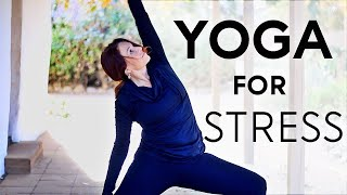 20 Minute Yoga Practice For Stress With Fightmaster Yoga