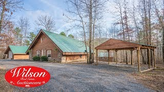 Absolute Log Home Auction ~ Hot Springs, Ar