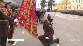 Достроковий випуск офіцерів НАСВ ім  Сагайдачного у Львові
