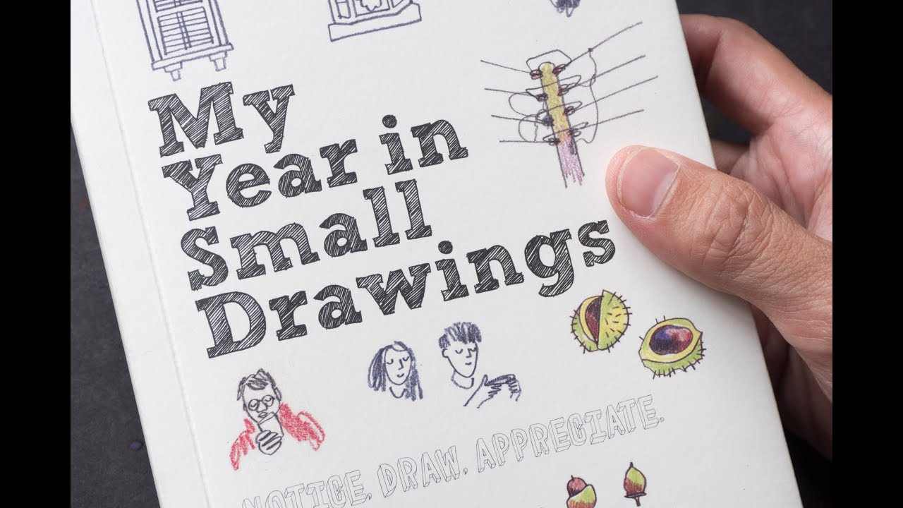 review my year in small drawings by matilda tristram youtube