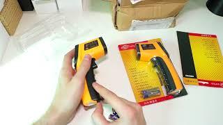Цифровой Инфракрасный термометр и Лазерный Бесконтактный Термометр GM320 infrared thermometer