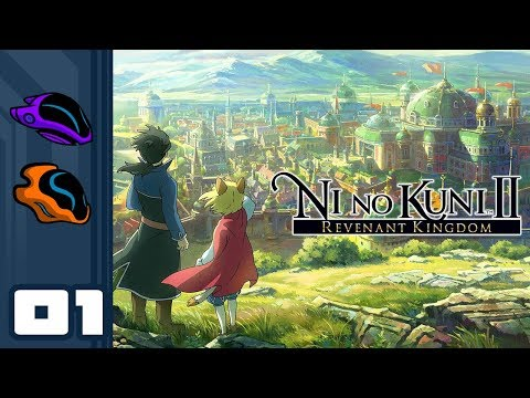 Let's Play Ni No Kuni 2 - PC Gameplay Part 1 - The President And The Prince
