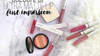 ПЕРВОЕ ВПЕЧАТЛЕНИЕ COLOURPOP Ultra Matte Lip | FIRST IMPRESSION | #AsiyaTV Asiya TV