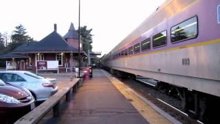 Double Set MBCR Train in Walpole MA(8/17/10)