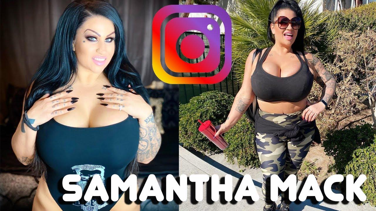 Samantha Mack Pornstar Model Hot Girl Sexy  Горячая -1233