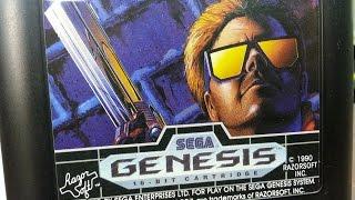 Classic Game Room - TECHNO COP review for Sega Genesis