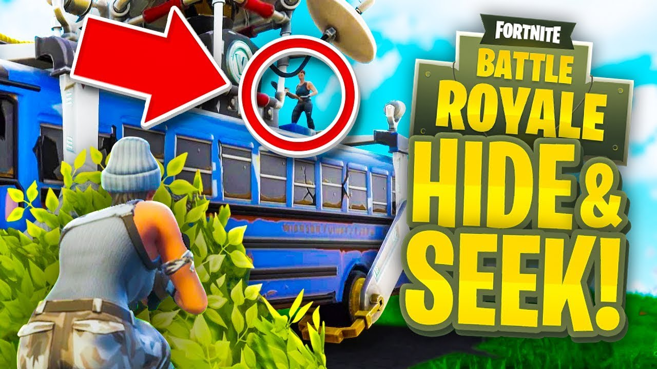 Hide And Seek In Fortnite Fortnite Battle Royale Youtube