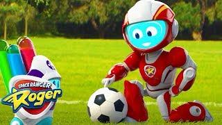 Cartoons for Kids   Roger's Soccer Shock - Roger's Ranger Rescue   Space Ranger Roger