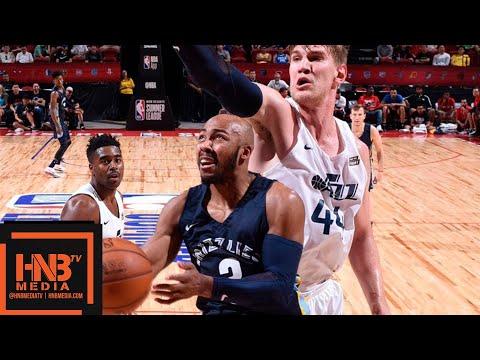 Utah Jazz vs Memphis Grizzlies Full Game Highlights / July 14 / 2018 NBA Summer League