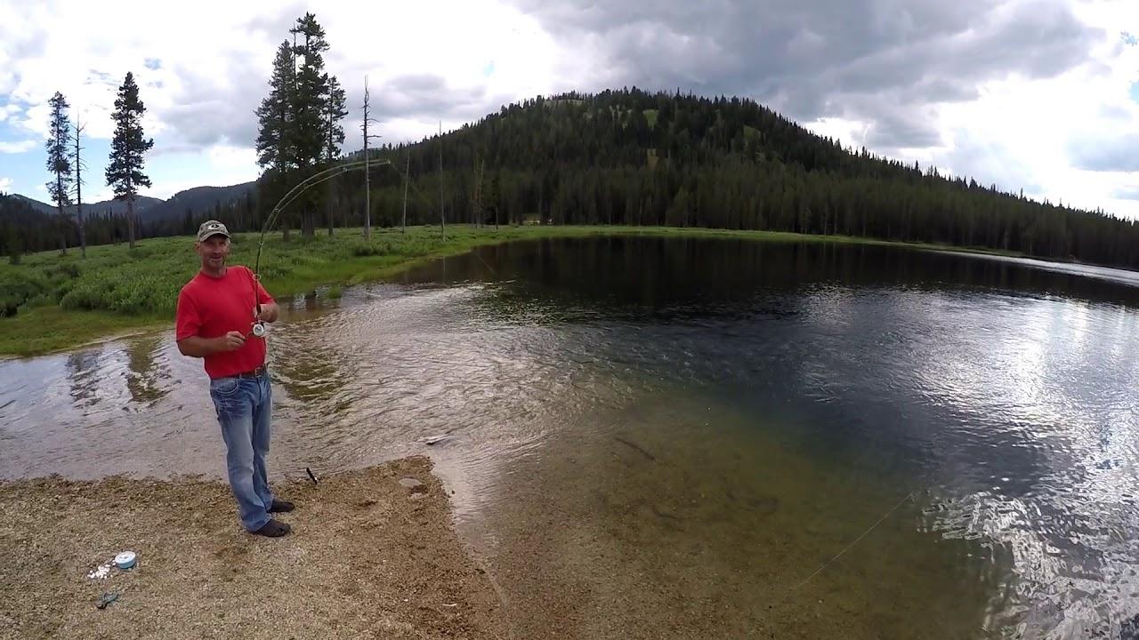 Bull Trout Lake Idaho Youtube
