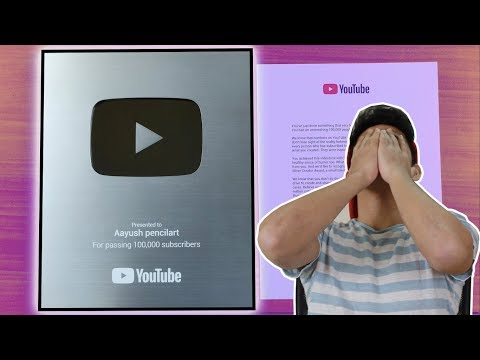 unboxing-my-silver-playbutton-*my-first-reaction*
