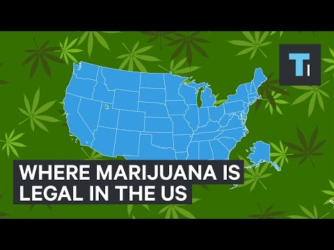 Where Marijuana Is Legal In The US
