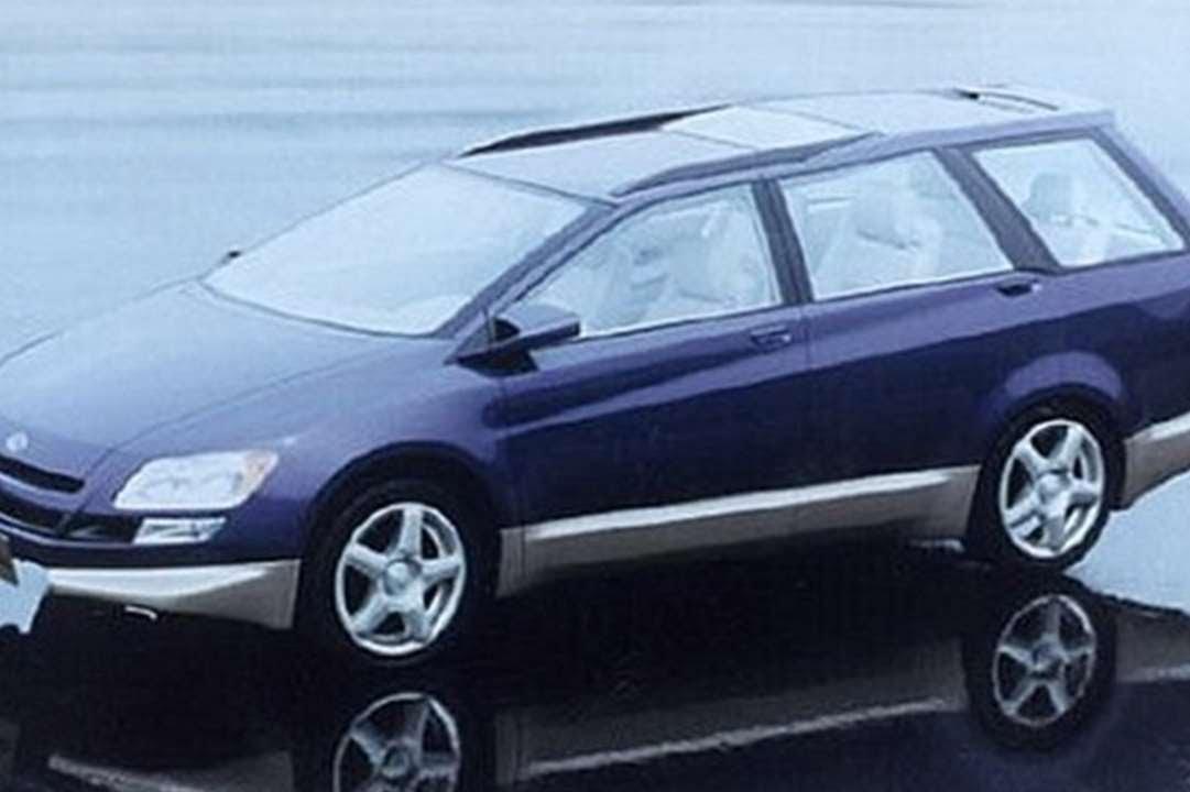 #1286. Subaru alpha exiga 1995 (Prototype Car)