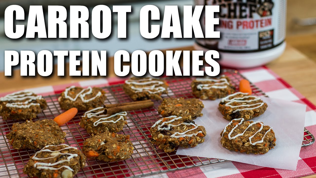 Carrot Cake Cookies Bodybuilding