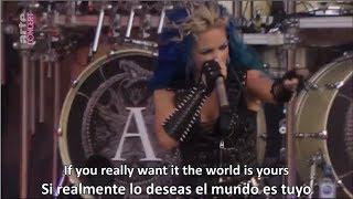 Скачать Arch Enemy The World Is Yours Lyrics Sub Español Live At Hell Fest 2018