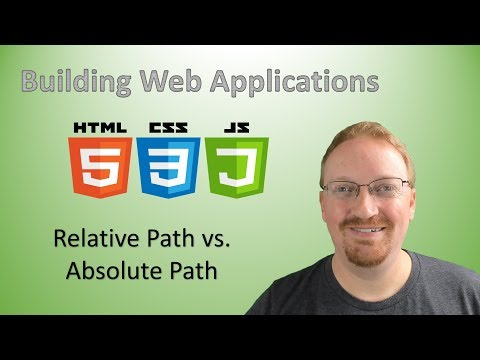 12. Building Web Applications: Relative Path Vs. Absolute Path In HTML | HTML For Beginners 🌐