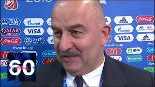 Черчесов дал прогноз на матч Россия - Египет. 60 минут от 19.06.18