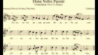 Dona Nobis Pacem (Bellas Kanon Version)