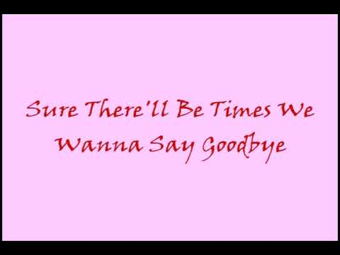 I'm Never Gonna Say Goodbye