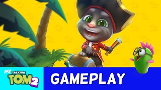🏴‍☠️ Join Tom's Pirate Adventure! 🏴‍☠️ My Talking Tom 2 NEW GAME UPDATE (Gameplay)