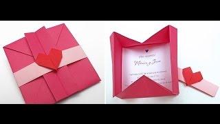 Origami: Sobre Elegante - Hogar Tv  por Juan Gonzalo Angel