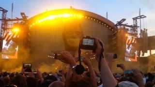 Robbie Williams - Hey Wow Yeah Yeah (Intro) 16.08.2013 Zurich