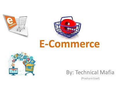 What is E-Commerce in Hindi  (Basic Information for Beginners)