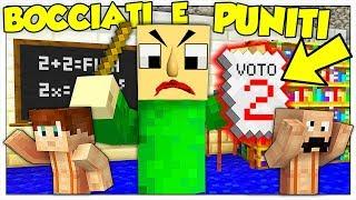 NON AFFRONTARE MAI LE 5 SFIDE DI BALDI! - Minecraft ITA