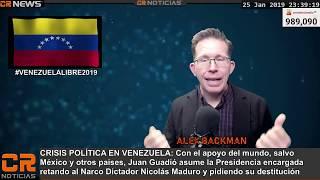CRISIS EN VENEZUELA 2019 🌎 10 MIL MAS EN CARAVANA 2019   🔊 CR NOTICIAS ENE 25 2019