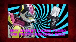 Download Mp3 Ex-aid Theory: The Reason Why Lazer Turbo Doesn't Use Proto Bakusou Bike | T