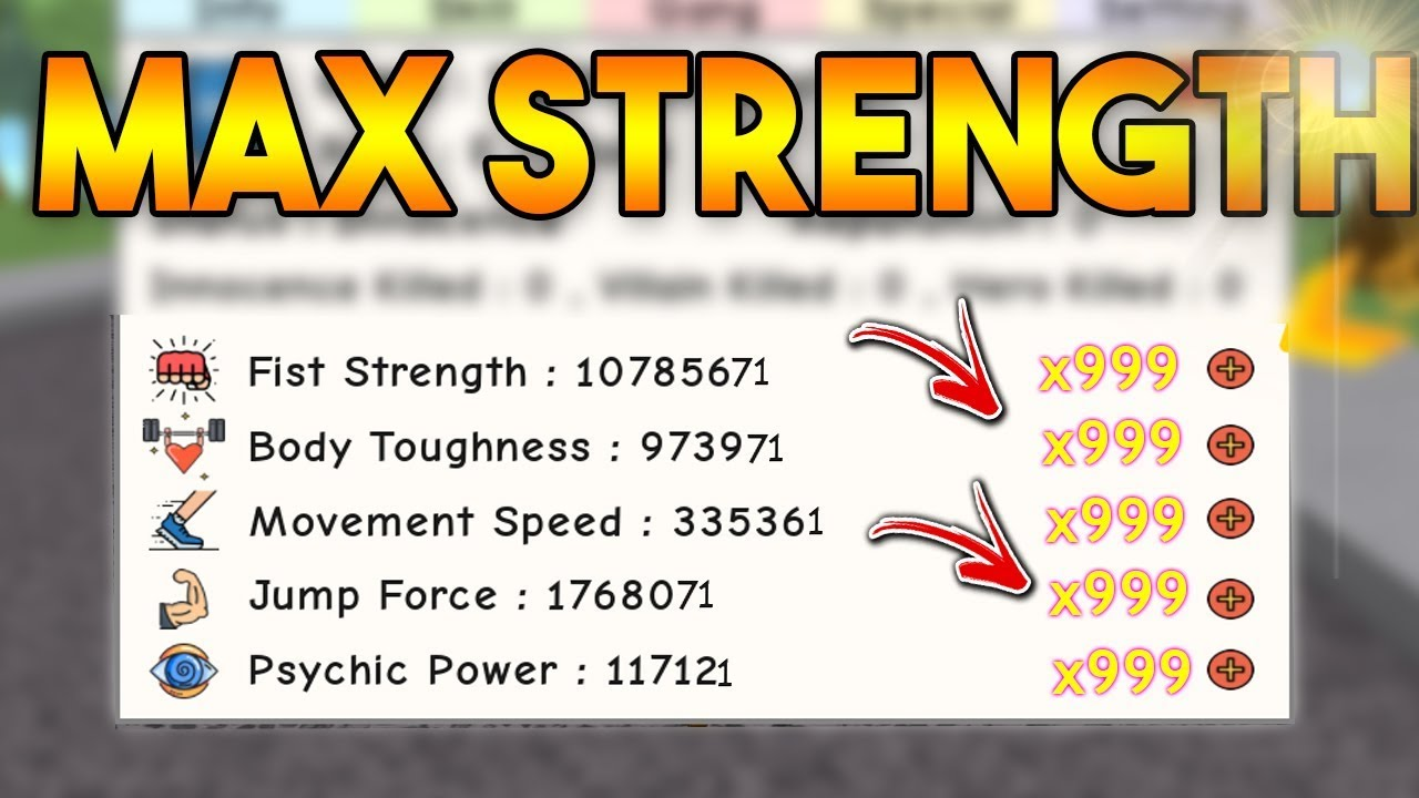 *MAXING OUT* STRENGTH! (x999) | Super Power Training Simulator ROBLOX