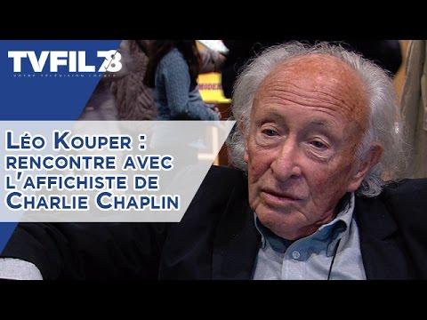 Léo Kouper : rencontre avec l'affichiste de Charlie Chaplin