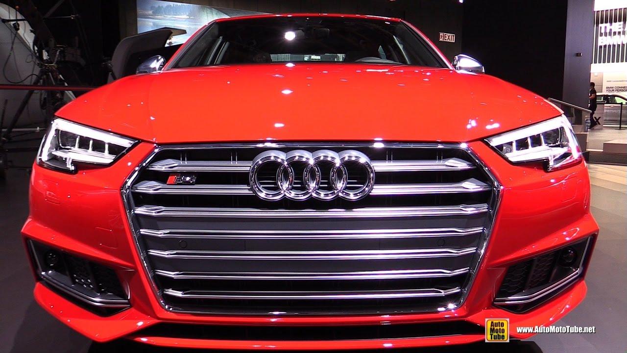 2017 Audi S4 Exterior And Interior Walkaround Detroit Auto Show You