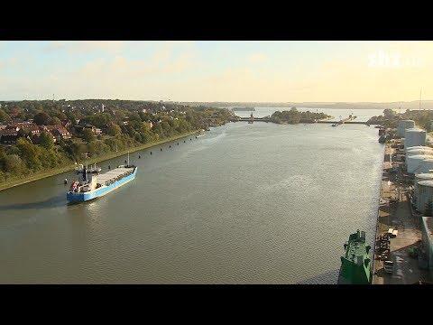 #DailyDrone: Nord-Ostsee-Kanalиз YouTube · Длительность: 50 с