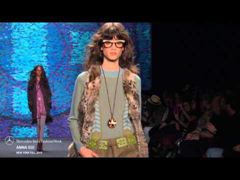 ANNA SUI MERCEDES-BENZ FASHION WEEK FW 2015 COLLECTIONS