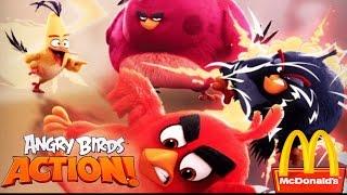 видео Rovio выпустила новую игру – Angry Birds Action!