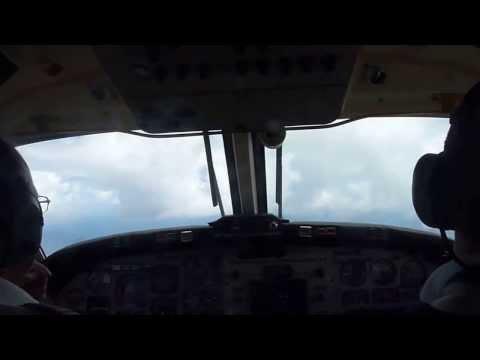Aterrizaje Archipielago Juan Fernandez// Juan fernandez Island Landing