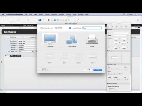Autosizing in FileMaker
