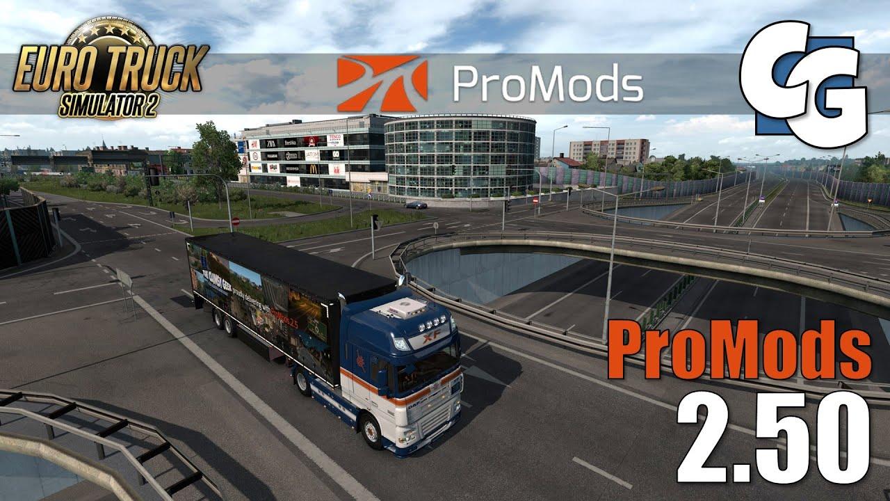 ProMods 2.50 Preview - Poland - A1, Kielce - ETS2