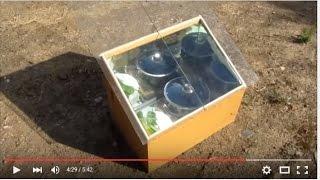 Como hacer un HORNO SOLAR  -  How to make a solar oven